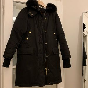 Rag and bone hooded parka